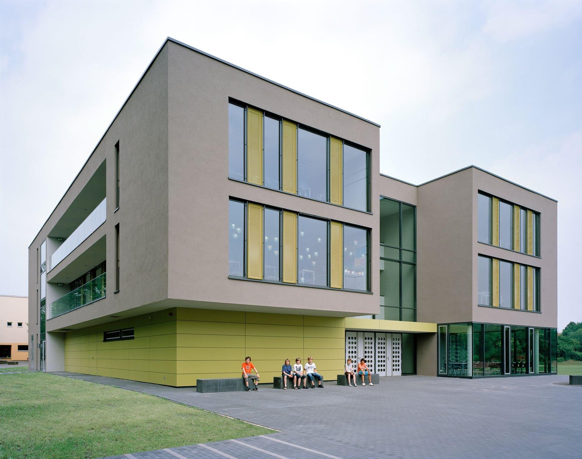 Schulzentrum heepen bhp architekten generalplaner gmbh br chner h ttemann pasch in bielefeld - Bhp architekten ...