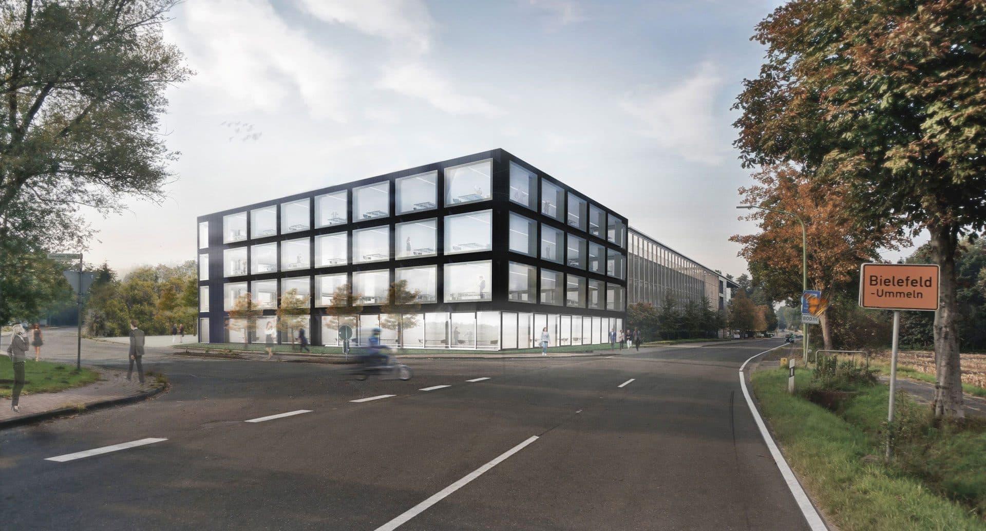 Standortoptimierung und erweiterung der unternehmenszentrale goldbeck bhp architekten - Bhp architekten ...